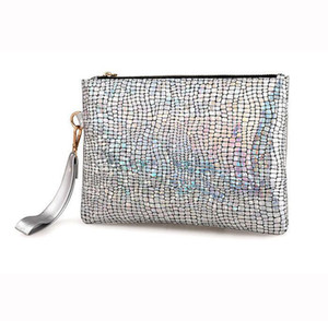 Wholesale Luxury Handbag Women Bags Designer Envelope Party Clutch Holographic Ladies Hand Bags Evening Wristlet Clutch Day Clutches Purse