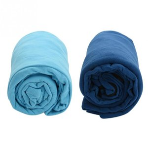 2 Colors Polar Fleece Outdoor Sleeping Bag Envelope Style Ultralight Portable Sleeping Bag Suitable for camping hiking