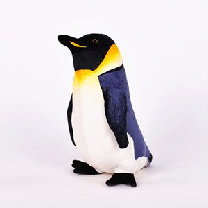 Wholesale penguin Ocean Creatures Plush Penguin Doll Cute Stuffed Sea Simulative Toys for Soft Baby Kids Birthdays Gifts CM