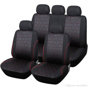 Wholesale yentl Seat Covers Support cheap price high quality china factory Polyester Hexagon Style Auto Car Accessories Interiors