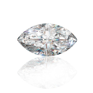 0.1Ct~3.0Ct(2*4MM~7*14MM) Marquise Cut With Certificate D F Color VVS Clarity Lab Diamond Moissanite Stone 3EX Cut Loose Diamond For Setting