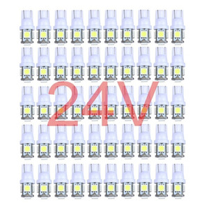 Wholesale 50x Colorful Truck V V LED T10 LED W5W SMD SMD LED Wedge Light Bulb Lamp White Green Blue Red Yellow V
