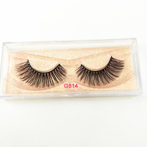 Wholesale Visofree Mink Eyelashes D Mink Lashes Thick HandMade Full Strip Lashes Cruelty Free Korean Mink Lashes Natural False Eyelashes