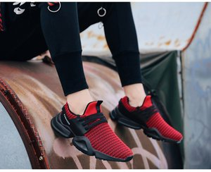 Wholesale Fashion Summer Shoes Men Casual Air Mesh Breathable Slip on Large Sizes Flats Mens Trainers Sneaker Lovers Loafers Shoe Running shoes