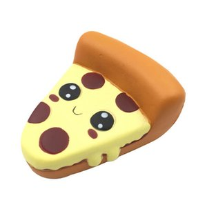 10pcs lot Kawaii Face 10cm Pizza squishy Slow Rising Cream Scented squeeze Adults Stress Reliever Decor toys