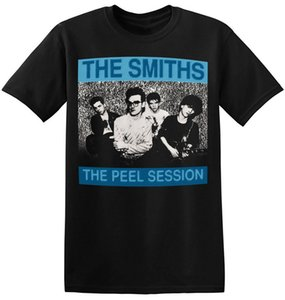 Wholesale The Smiths T Shirt UK Vintage Rock Band New Graphic Print Unisex Tee A