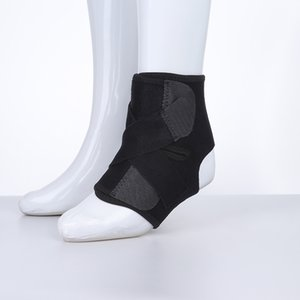 Wholesale 1pcs Sport Football Breathable Ankle Brace Protector Adjustable Ankle Support Pad Protection Elastic Brace Guard Support