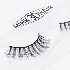 Wholesale Mink Eyelashes D Mink Lashes Thick HandMade Full Strip Lashes Cruelty Free Korean Mink Lash Upper False Eyelashes A16