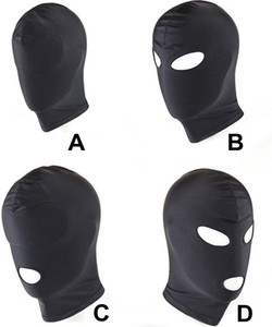 Wholesale bdsm gays resale online - 4 Styles Headgear Mask Bondage Restraint Blind Mask SM Sex Toys For Couple Women Men Gay Slave Headgear BDSM Toys