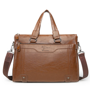 Wholesale Men's portable business bag cross shoulder diagonal casual bag document computer bag