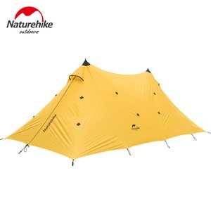 Wholesale Brand NatureHike Outdoor D silicone Double A tower rainproof sunshade canopy tower outdoor camping person tent awning