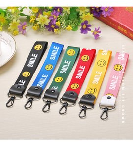 letter phone hang rope to hang the neck of DIY mobile phone shell jewelry accessories hand rope polyester wrist band accessories