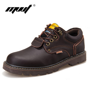 Wholesale Genuine Leather Men boots Classic Ankle work Boots Nubuck leather Men Winter Snow Autumn Tooling shoes