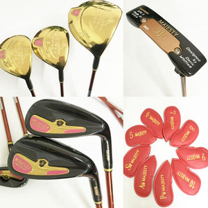 Wholesale New women Golf clubs Maruman majesty Prestigio9 golf complete set of clubs driver fairway wood Irons putter graphite golf shaft Freeshipping