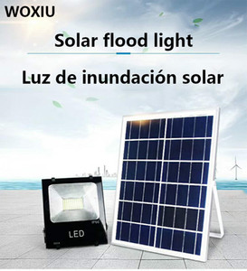 Wholesale WOXIU W led solar flood lights outdoor lighting Led Flood Sensor Garden Spot Lamp Powered Floodlight Lights Waterproof IP65