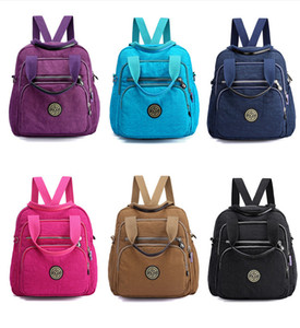 Mini Multi-function Waterproof Nylon Backpack Shoulder Bag Messenger Bag Handbag Stroller Backpack for Women Mom Outdoor Travel