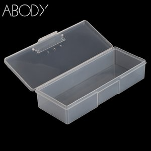 Wholesale Plastic Nail Art Storage Box Storage Display Box Case for Jewelry Beads Nail Art Tips Portable Equipment Tool NEW
