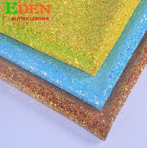 Wholesale High quality materials factory cheap price exotic glitter leather chunky powder making shoes materials elastic fabric for luxry bags
