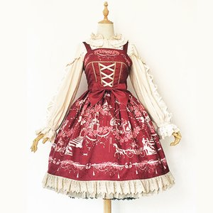 Wholesale Champs Elysees Sweet Printed Lolita JSK Dress by Infanta Pre order