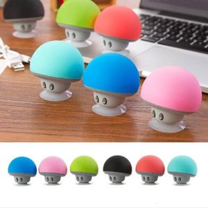 Wholesale waterproof mini mushroom wireless bluetooth speaker resale online - Mini Mushroom Wireless Bluetooth Speaker Portable Waterproof Shower Stereo Subwoofer Music Player For iPhone Mobile Phone