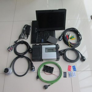 Wholesale lenovo wlan for sale - Group buy Super MB Star C5 diagnosis tool SSD software sd connect Wireless Multi languages For Lenovo X200t Laptop
