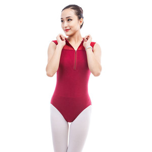 Wholesale Ballet Dance Sleeveless Bodysuit Tops Stager Performance WearMesh Yarn Leotard Ballet Practice Leotards Gym set Clothes DWY924