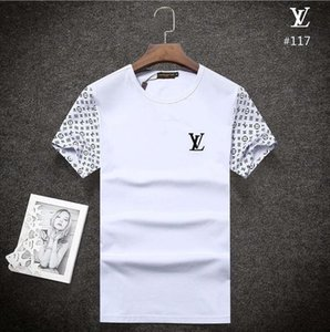2018 Summer Designer T Shirts For Men Tops POLO blous Letter Embroidery T Shirt Men Clothing Brand Short Sleeve Tshirt Women Tops S-3XL B117