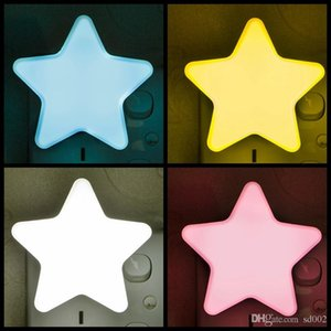 Wholesale Energy Saving LED Light Warm Bright Five Pointed Star Shape Night Lamp Safe Long Life Smart Style Cute Design Lantern Fashion cz B