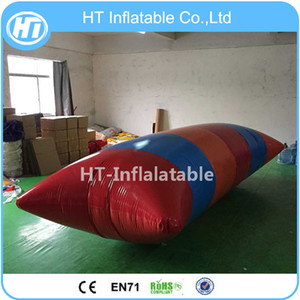Wholesale inflatable water parks for sale - Group buy x2m Water Park Equipment Lake Inflatable Water Bungee Blob Water Blob Inflatable Jumping Pillow Australia