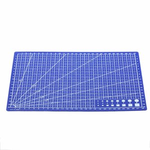 Wholesale 1 Piece A4 Cutting Mat plastic Grid Lines Self Healing Cutting Mat mm Craft Card Fabric Leather Paper Board