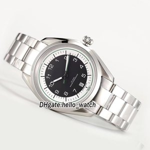 Wholesale Olympic Memorial Black Dial Japan Miyota A Automatic Mens Watch Stainless Steel Bracelet Sapphire Gents Watches