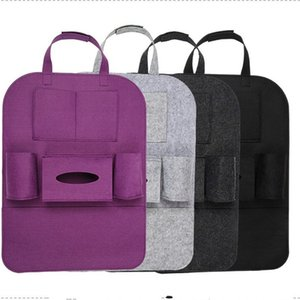 Wholesale Felt Storage Bins Vehicle Bag Pouch Car Multi Function Chair Back Box Organizer Holder Factory Direct ck V