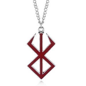 Wholesale 2018 new arrived anime Sword OF The Berserk Men pendant necklaces fashion trendy male necklace jewelry gifts