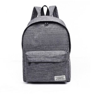 Wholesale Brand Canvas Men Women Backpack College High Middle School Bags For Teenager Boy Girls Laptop Travel Backpacks Mochila Rucksacks