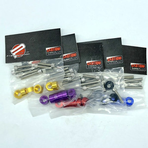 Wholesale civic fender washers for sale - Group buy JDM Aluminum Engine Dress Up mm Metric Cup Washers Kit Fender Washer Cam Cap