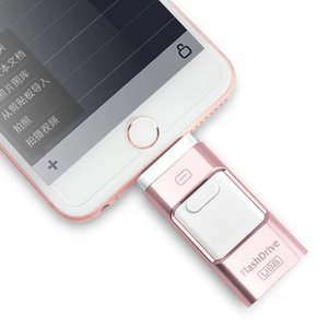Wholesale 32GB iPhone USB Flash Drive iOS Memory Stick iPad External Storage Expansion for iOS Android PC Laptops in mobile phone U disk