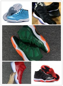 2018 New fashion Mens and Womens 11s Low Barons 11 Basketball Shoes Out Door Sports Sneakers for Airs Men Size US5.5-13
