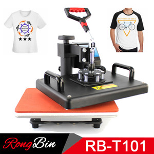Wholesale 12x15 Inch T shirt Heat Press Machine Digital Swing T shirt Heat Transfer Machina Printing Machine Subl DIY Print