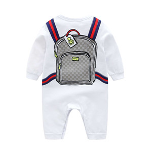 Wholesale Baby Autumn Romper Infant Cotton Clothes Set Cartoon Fashion Clothing Suit for Baby Boy Newborn Kintted Super Soft Romper