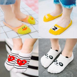 Wholesale Cute Baby Kids Cartoon Boat Socks Spring Summer Cotton Socks Childrens Animal Duck Breathable Soft Sock Fashion Girls Designer Socks pairs