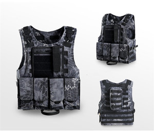 Wholesale Fast Drying Hunting Jackets Field Operations Protection Vests Ventilation Combat Assault Plate Carrier Nylon Tactical Vest Colorful qy jj