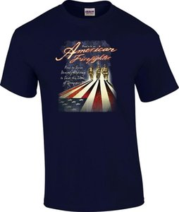 Proud to Be An American Firefighter US Flag Fireman T-Shirt