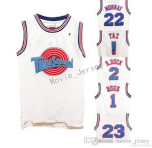 Wholesale space flash for sale - Group buy Space Jam Tune Squad Cheap basketball Jersey Machael Tweety Taz Bugs D duck James Lola Murray Tordan Jerseys