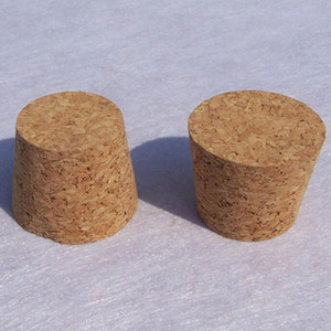 Wholesale Natural Wood Cork Bottle Stopper Glass Jar Water Bottles Stopper Bubble Wine Stoppers Packing Material QW7068