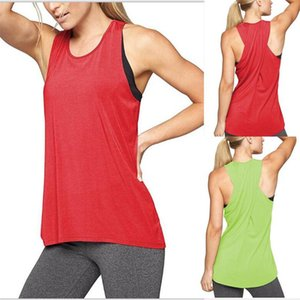 Summer 2018 Fashion Women's Sexy Back Cross Yoga Vest Crew Neck Tops Tees Sleeveless Sports Vest Shirt For Ladies Free Shipping