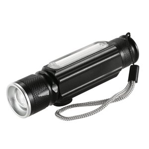 Wholesale Y5435 USB LM Flashlight with Magnet Handy LED Flashlight Rechargeable Torch Flash Light Pocket LED Zoom