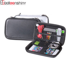 Wholesale BalleenShiny Multifunction Digital Travel Organizer Bags Portable Eva USA Cable Phone Mobile Power Protection Storage Bags Box