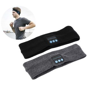 Wholesale yoga music resale online - Bluetooth Music Headband Stereo Wireless Headset Mens Womens Sports Running Fitness Yoga Stretch Head Wrap Caps Perfect Gifts