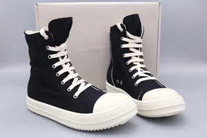 Wholesale motorcycles boots resale online - 18ss Original TPU Fragrant sole Earth Tone Vegan high top canvas sneaker trainer boots