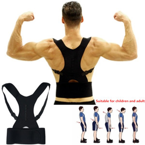 Wholesale Adjustable Posture Corrector Back Support Belt Shoulder Bandage Corset Back Orthopedic Brace Scoliosis Posture Corrector